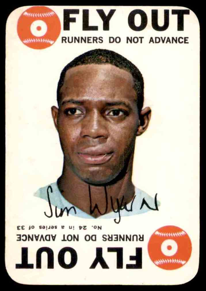1968 Topps Game Jim Wynn #24 card front image