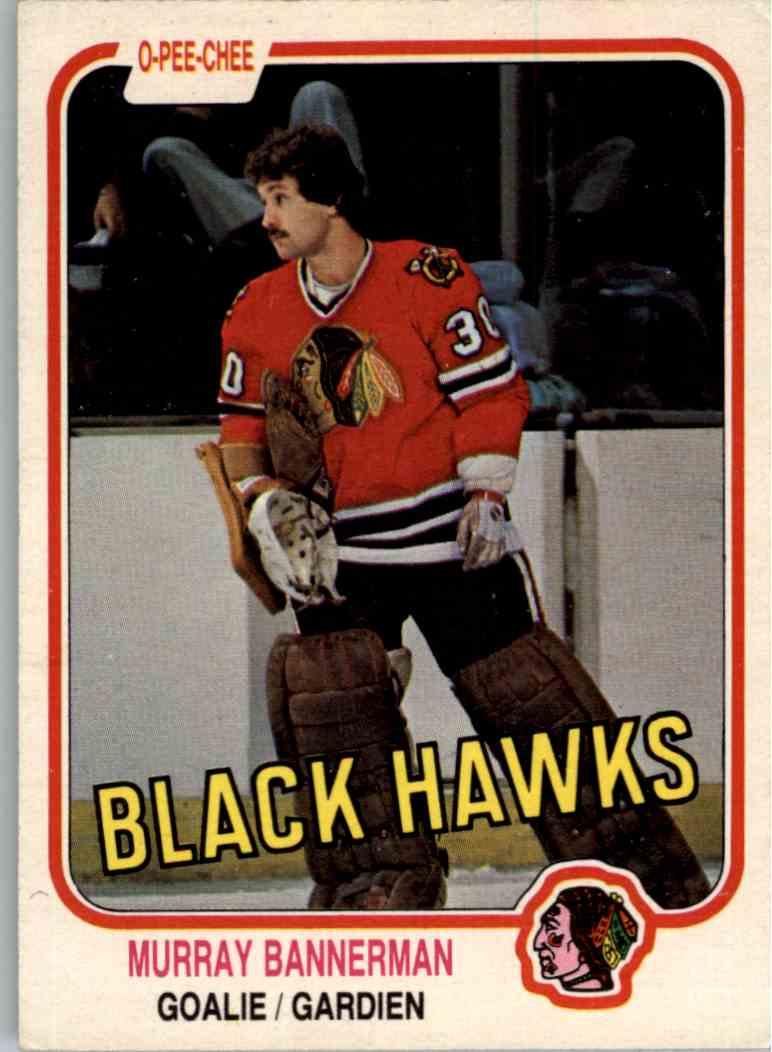 1981-82 O-Pee-Chee Murray Bannerman #68 card front image