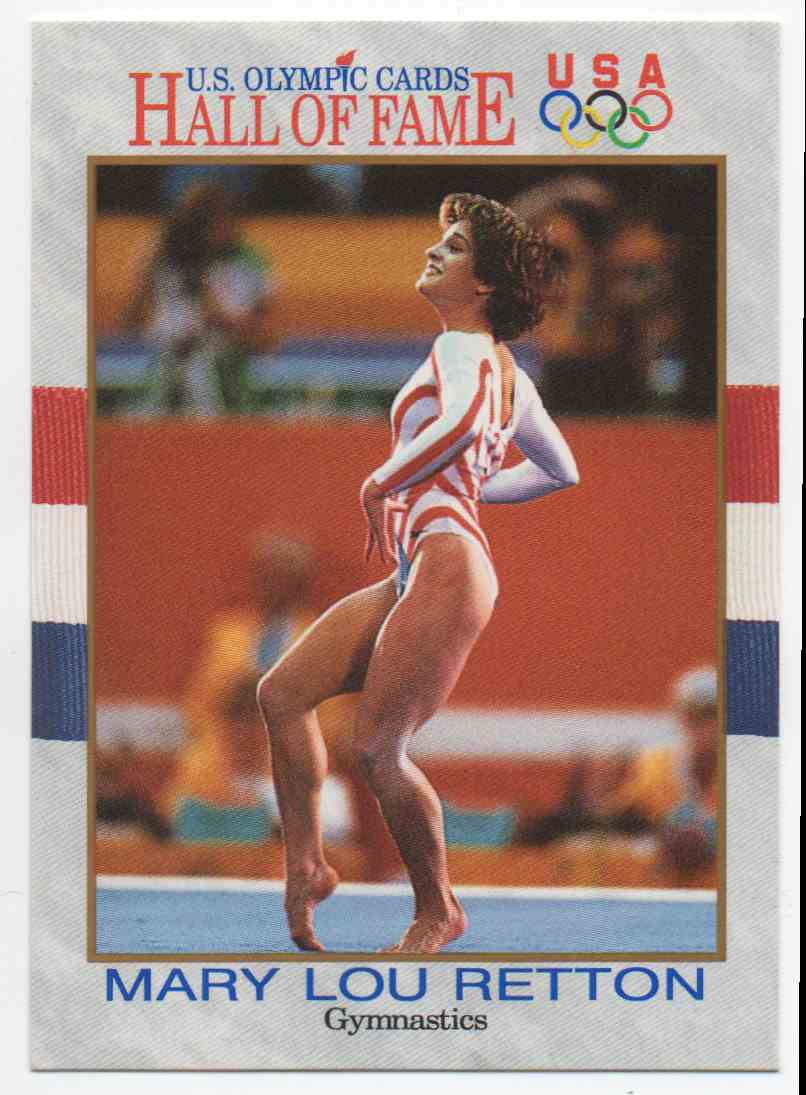 1991 Impel U.S. Olympic Hall Of Fame Mary Lou Retton #27 card front image