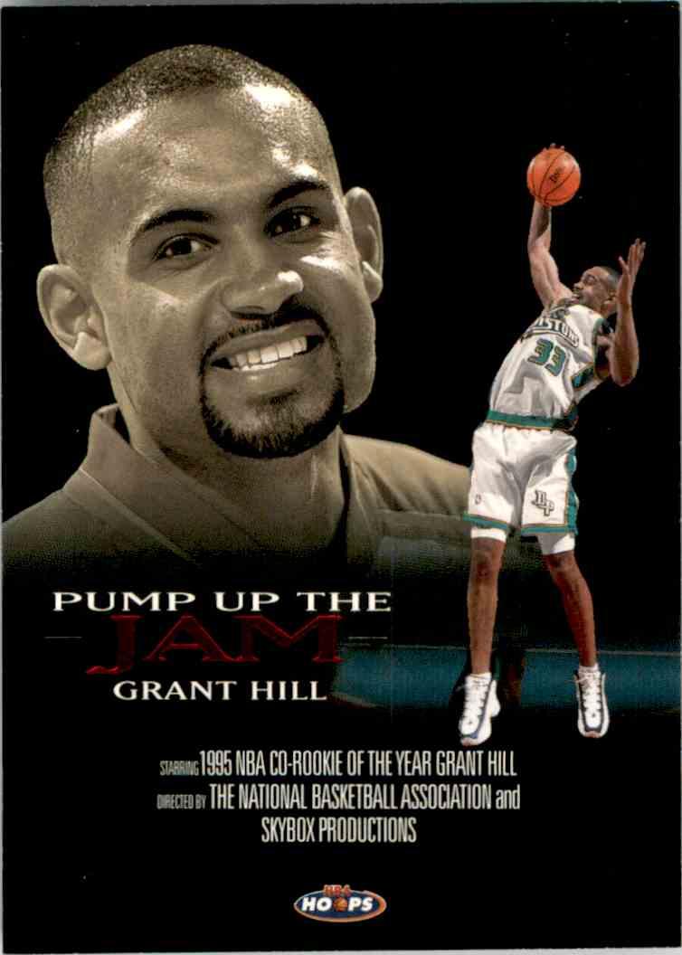 1998 99 Hoops Pump Up The Jam Grant Hill 3 On Kronozio