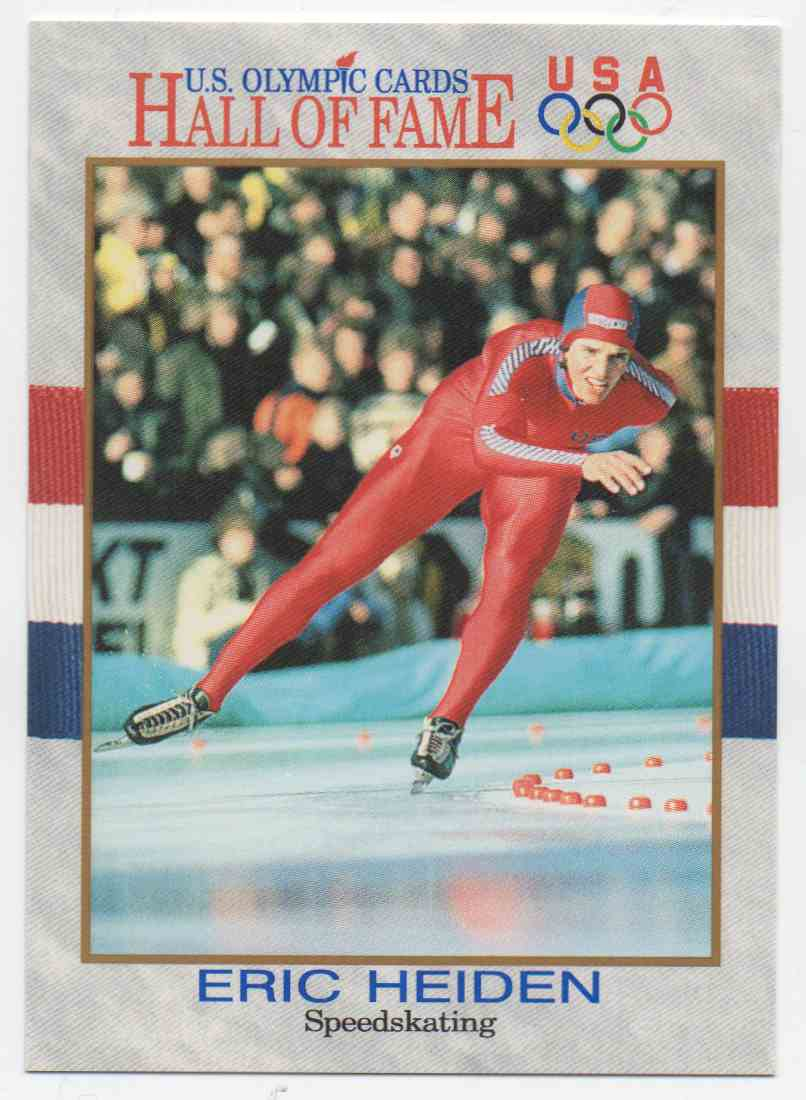 1991 Impel U.S. Olympic Hall Of Fame Eric Heiden #36 card front image