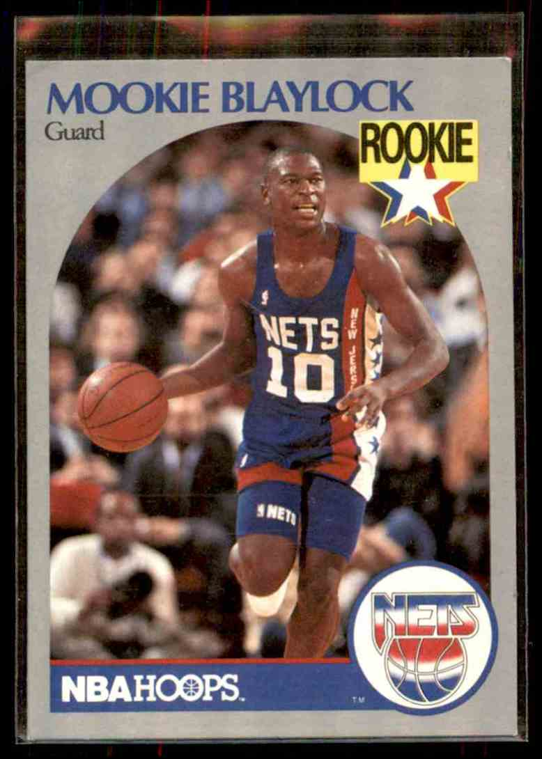 1990-91 NBA Hoops Mookie Blaylock #193 card front image