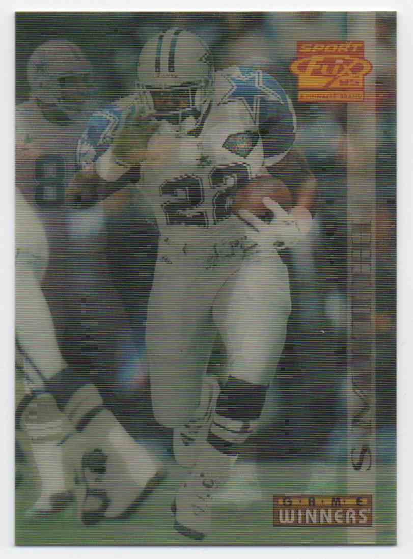 1995 Sportflix Emmitt Smith #149 card front image