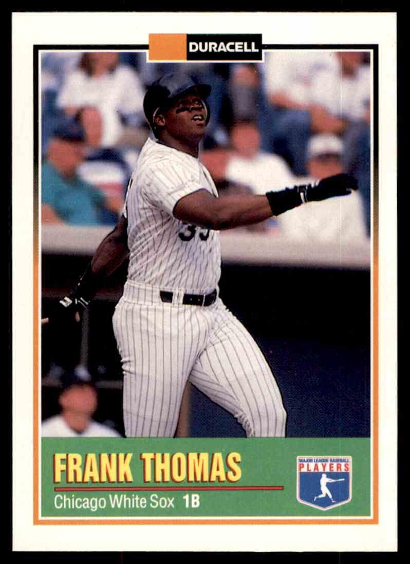 1993 Duracell Frank Thomas 2 On Kronozio