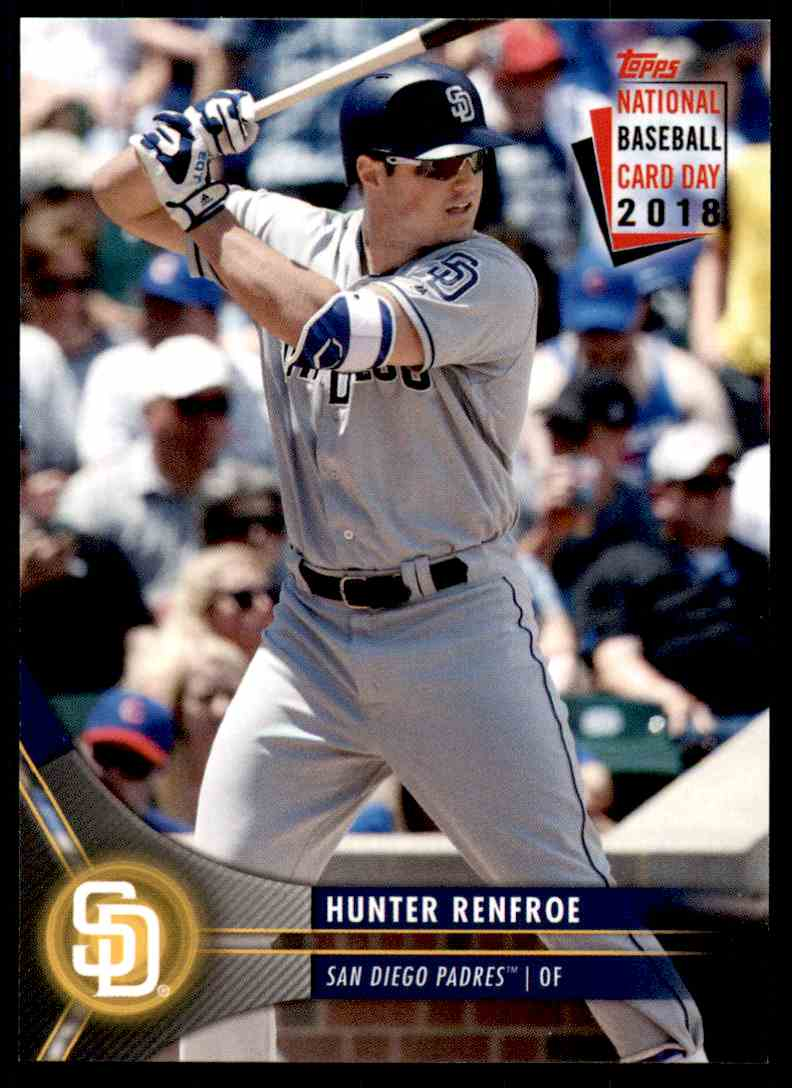 2018 Topps National Baseball Card Day 2018 Hunter Renfroe