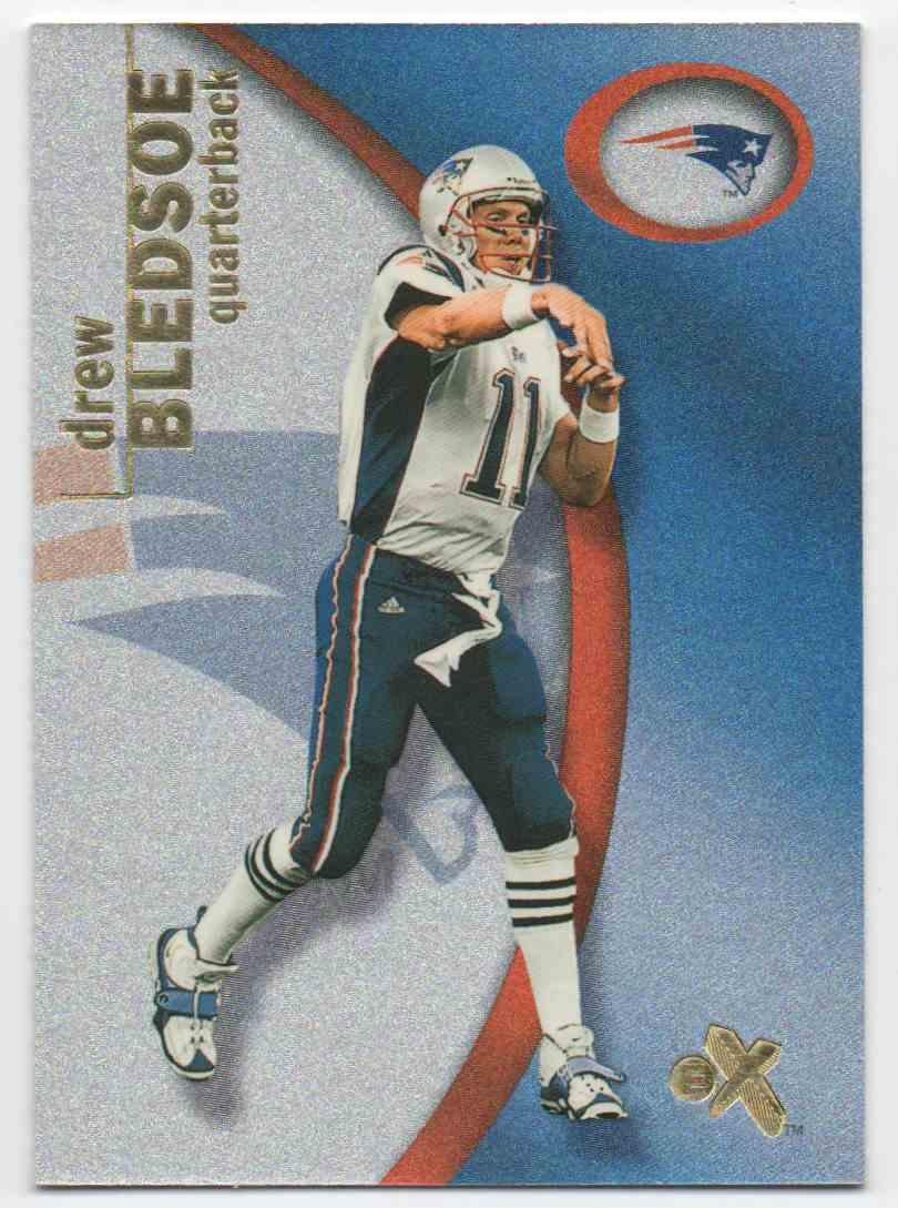 2001 Skybox EX 2001 Drew Bledsoe #56 card front image