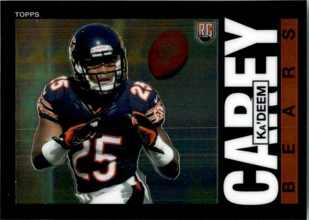 2014 Topps Chrome 1985 Ka'Deem Carey #27 card front image