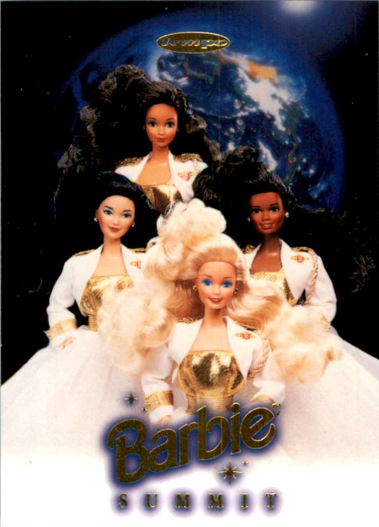 1997 Tempo World Of Barbie Barbie Summit #SPC1 card front image