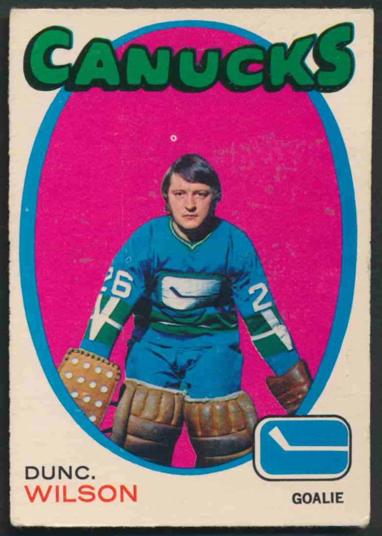 1971-72 O-Pee-Chee Dunc Wilson #24 card front image