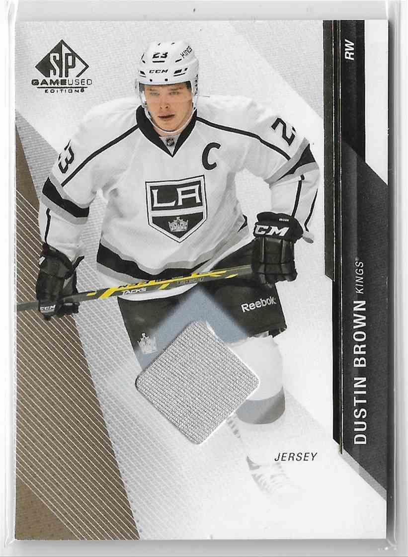 2014-15 SP Game Used Dustin Brown #55 card front image