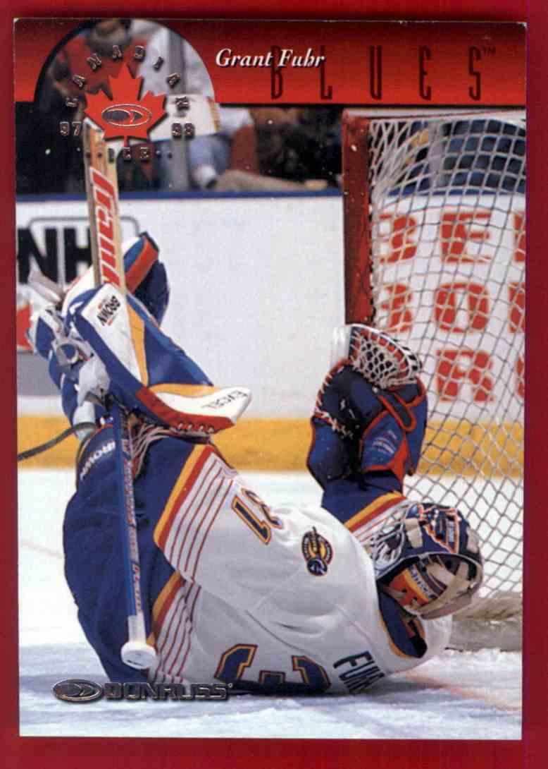 1997 98 Donruss Grant Fuhr 95 On Kronozio