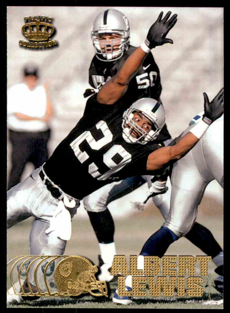 1997 Pacific Albert Lewis #304 card front image
