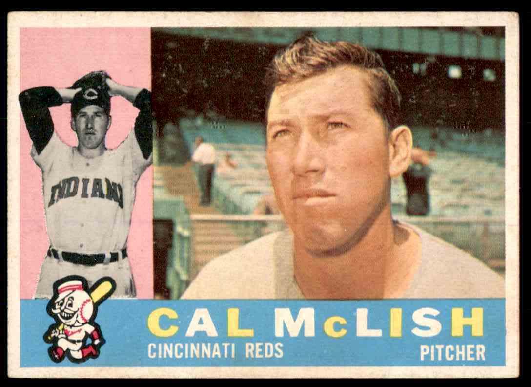1960 Topps Cal McLish #110 card front image