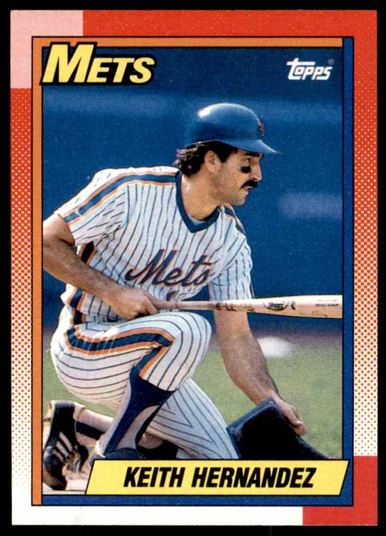 1990 Topps Mlb Keith Hernandez 230 On Kronozio