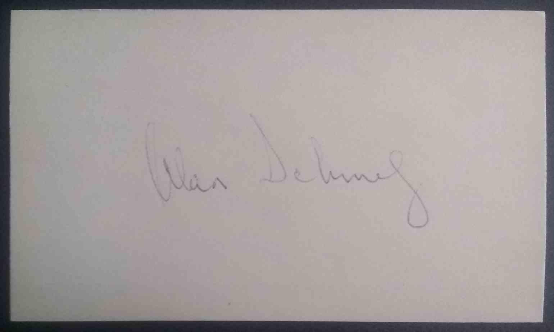 1967 3X5 Al Schmelz card front image