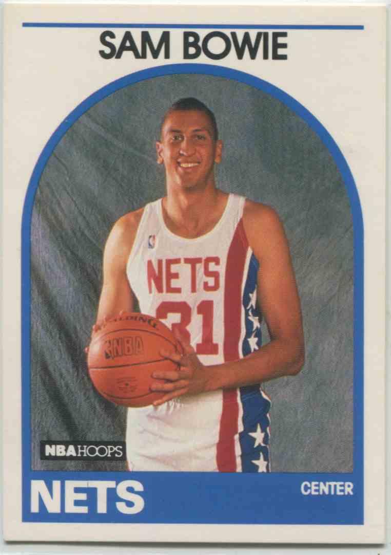 1989 90 NBA Hoops Sam Bowie 337 on Kronozio