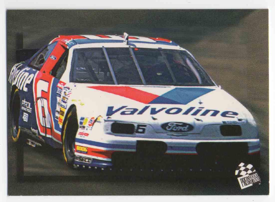 1994 Press Pass Mark Martin #54 card front image