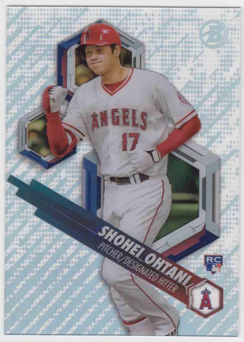 2018 Bowman High Tek Prospects Shohei Ohtani #PHT-SO card front image