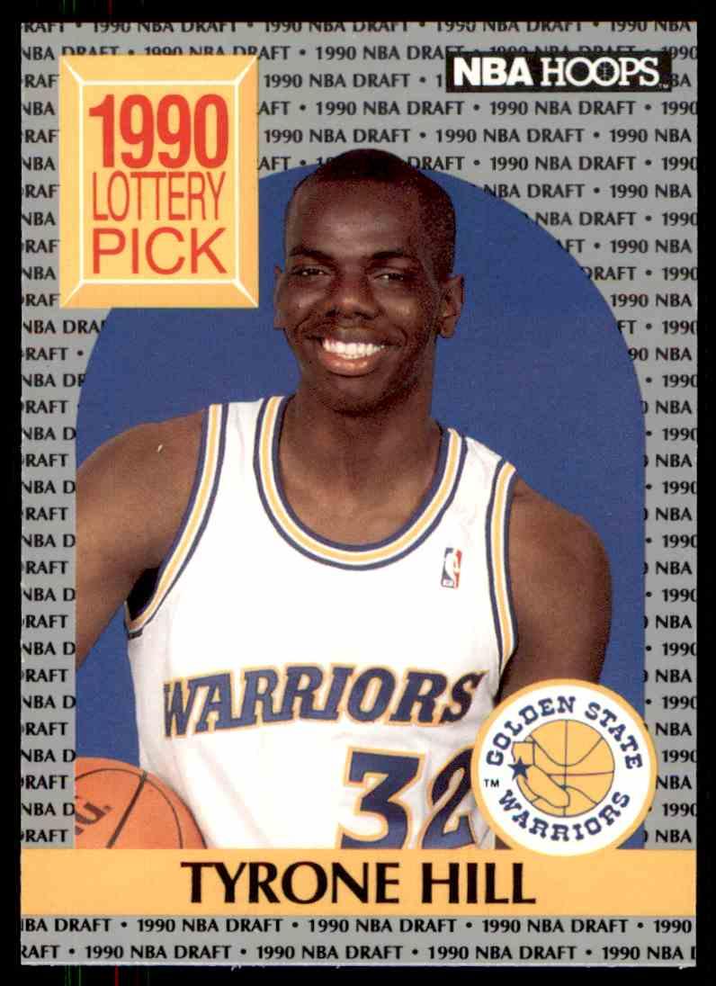 1990 91 NBA Hoops Tyrone Hill 400 on Kronozio