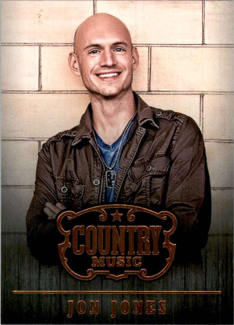 2015 Country Music Retail Jon Jones #6 card front image