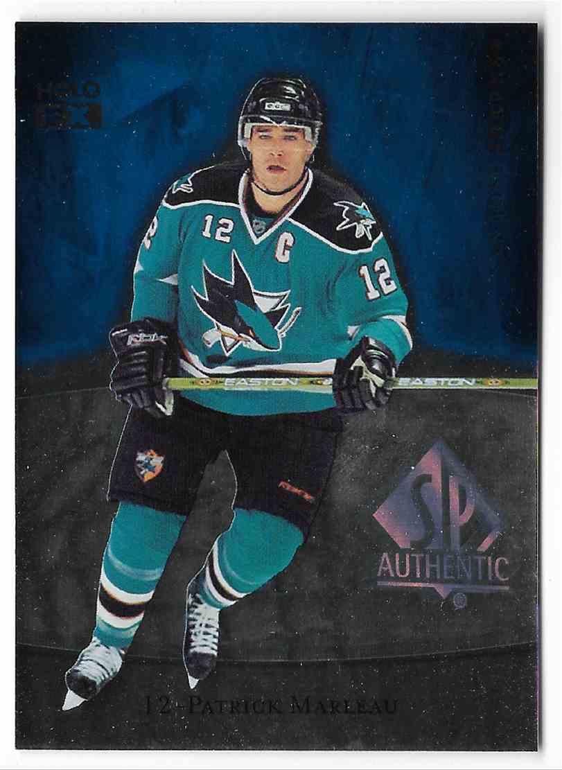 2007-08 SP Authentic Patrick Marleau #FX28 card front image