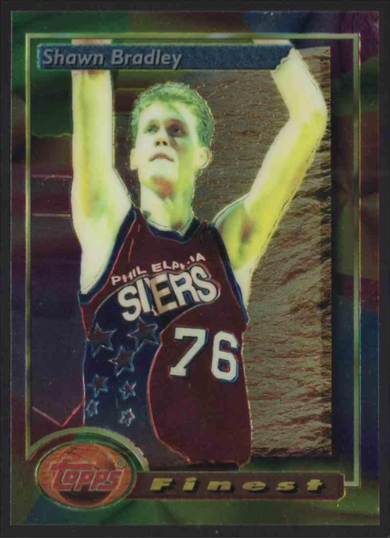 1993-94 Finest Shawn Bradley #220 card front image