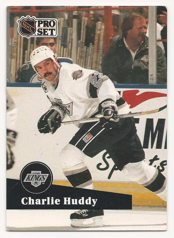1991-92 Pro Set Charlie Huddy #400 card front image
