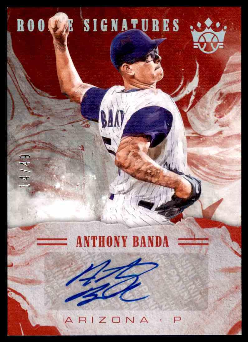 2018 Panini Diamond Kings Rookie Signatures Anthony Bando #S-AB card front image