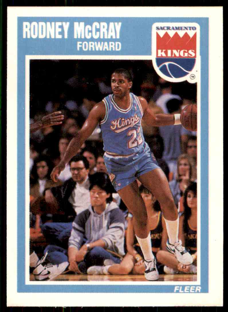 168 Rodney McCray trading cards for sale