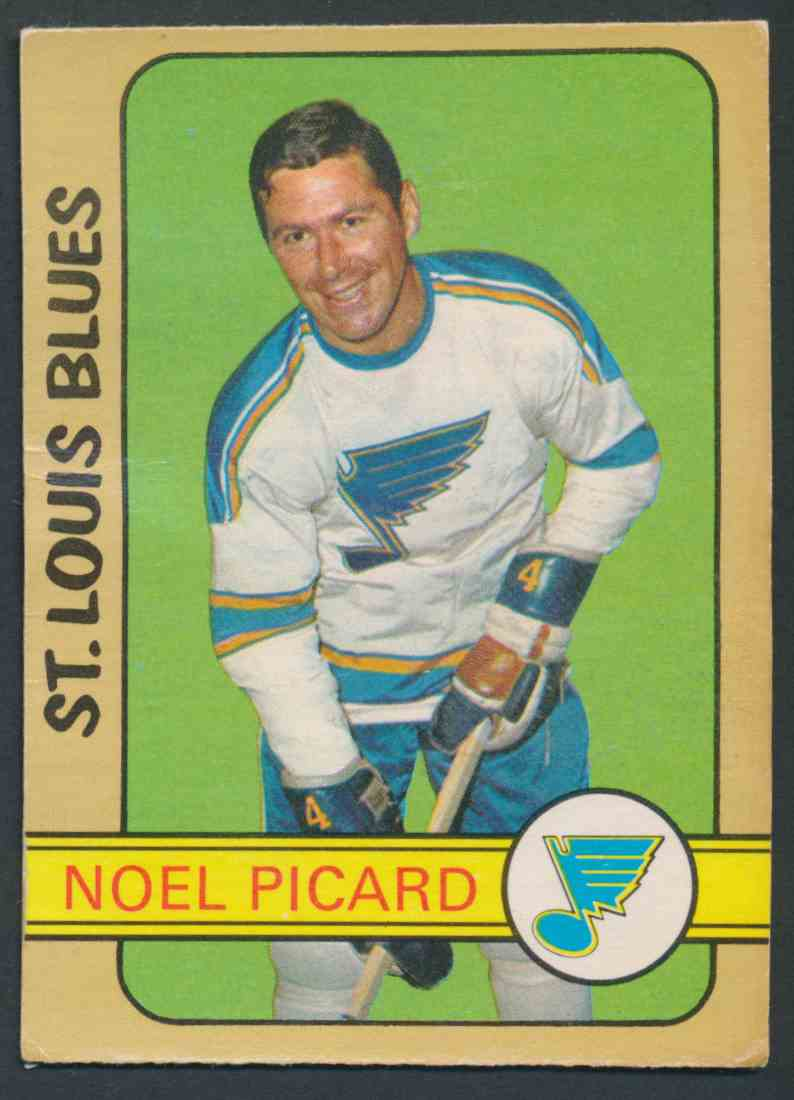 1972-73 O-Pee-Chee Noel Picard #180 card front image