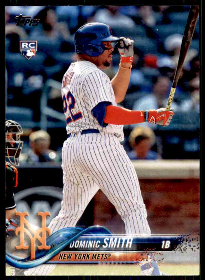 2018 Topps Dominic Smith #6 card front image