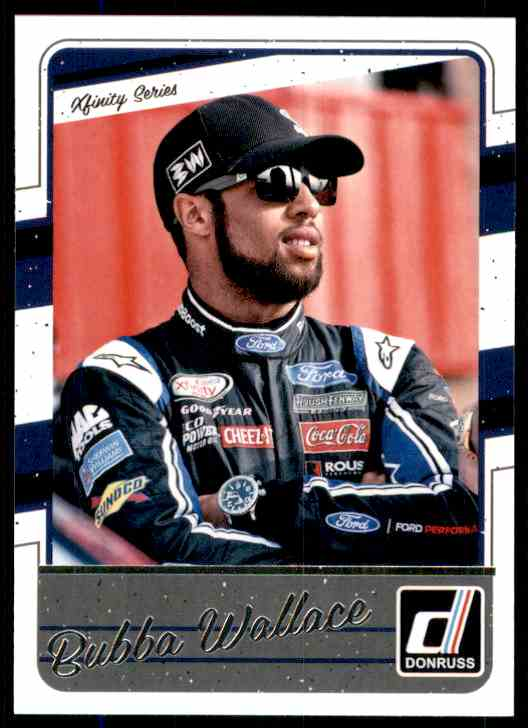 2017 Donruss Bubba Wallace #80 card front image