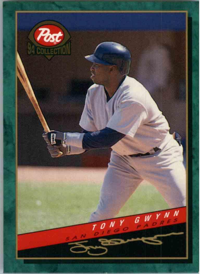 1994 Post Collection Tony Gwynn 13 Of 30 On Kronozio