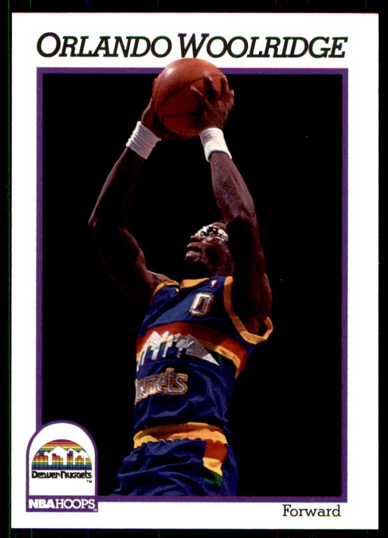 1991 92 Nba Hoops Orlando Woolridge 58 on Kronozio