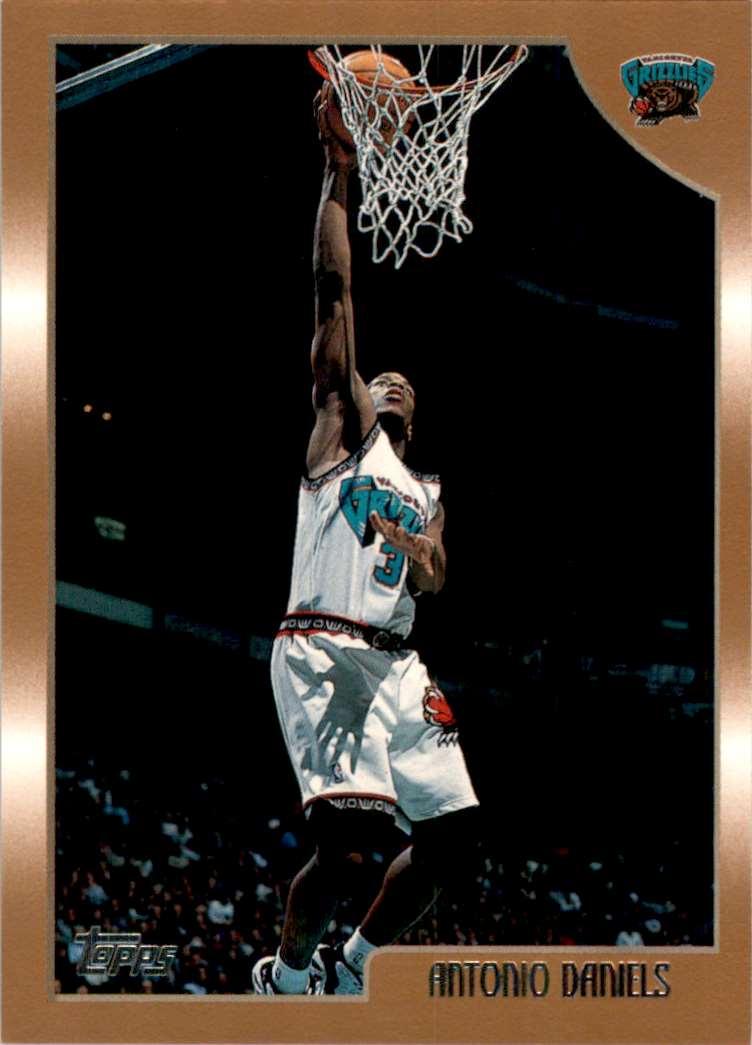 1998-99 Topps Antonio Daniels #33 card front image