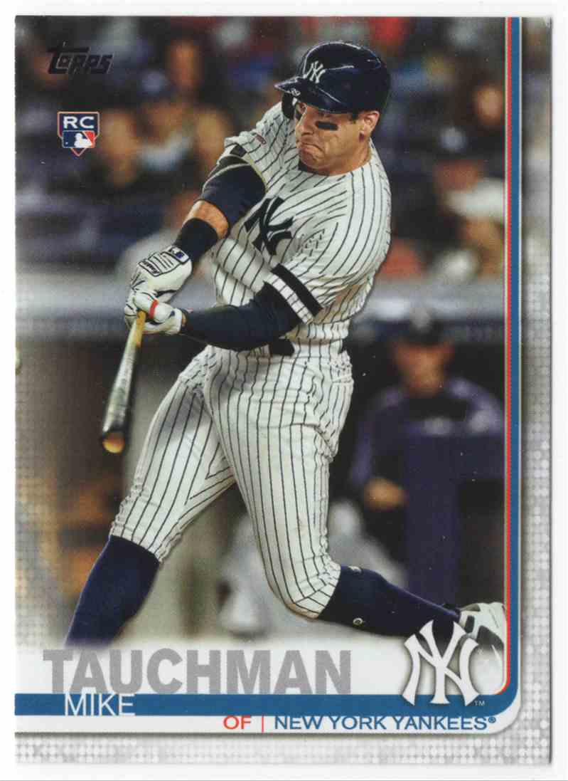 2019 Topps Update Mike Tauchman #US2 card front image