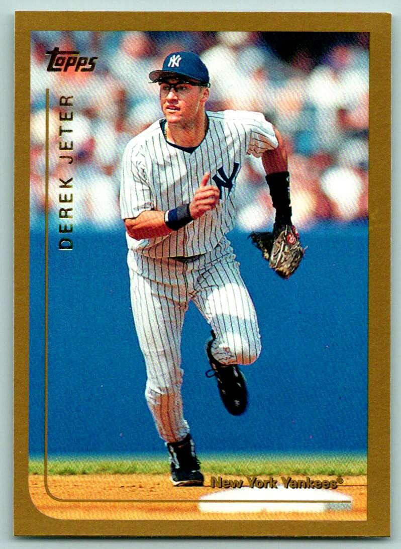 1999 Topps Derek Jeter #85 card front image