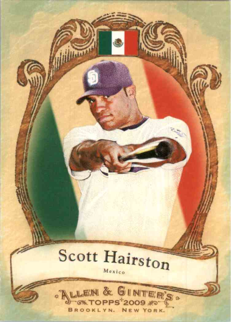 2009 Topps Allen Ginter National Pride Scott Hairston NP21 Card Front Image