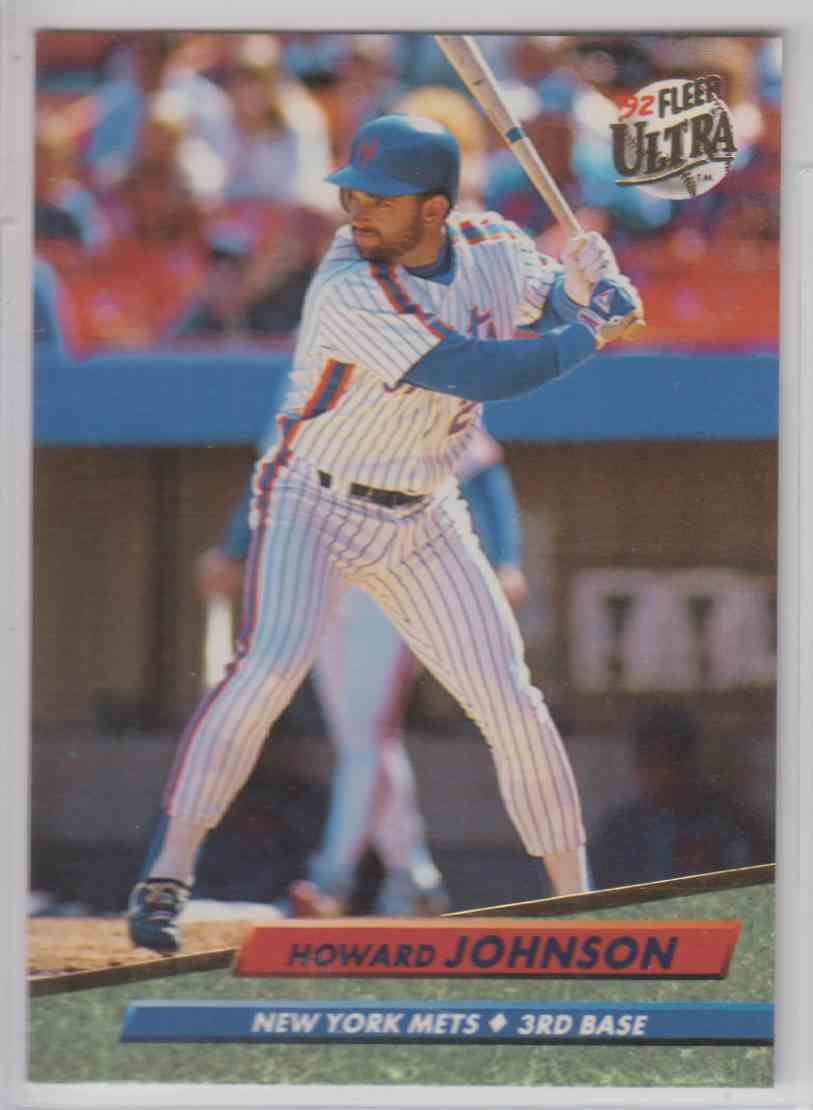 1992 Fleer Ultra Howard Johnson 235 On Kronozio