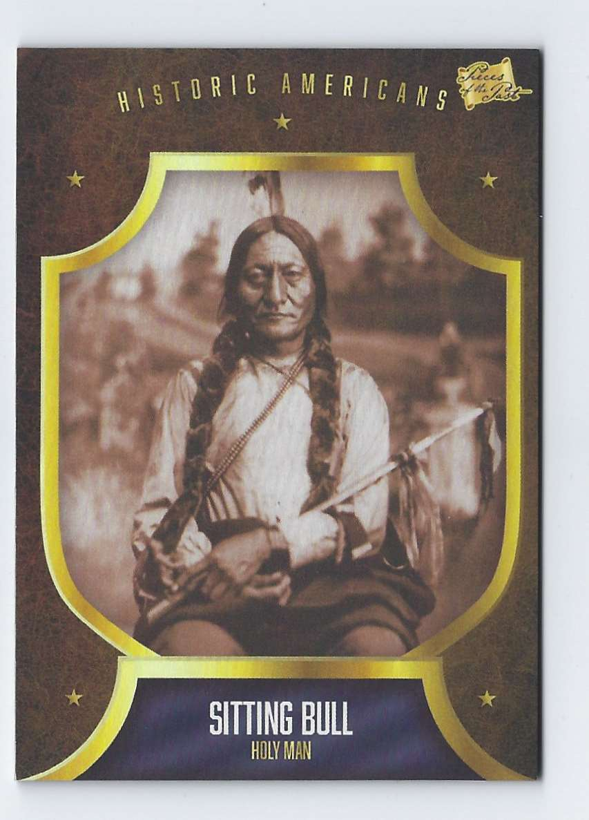 2017 Pieces Of Past Historic Americans Sitting Bull #171 card front image