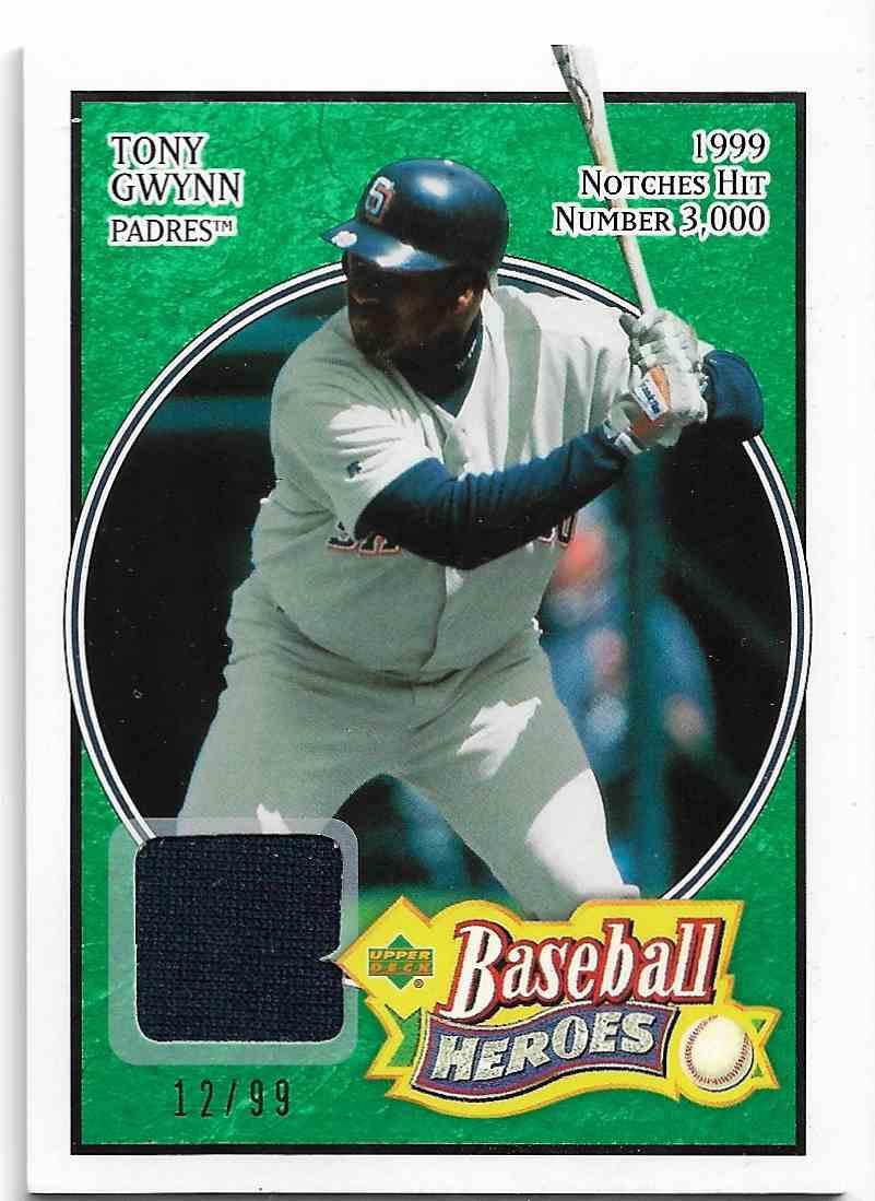 2005 Upper Deck Baseball Heroes Tony Gwynn #84 card front image