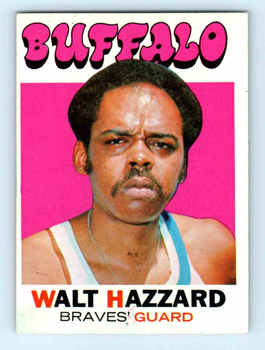 4 Walt Hazzard trading cards for sale