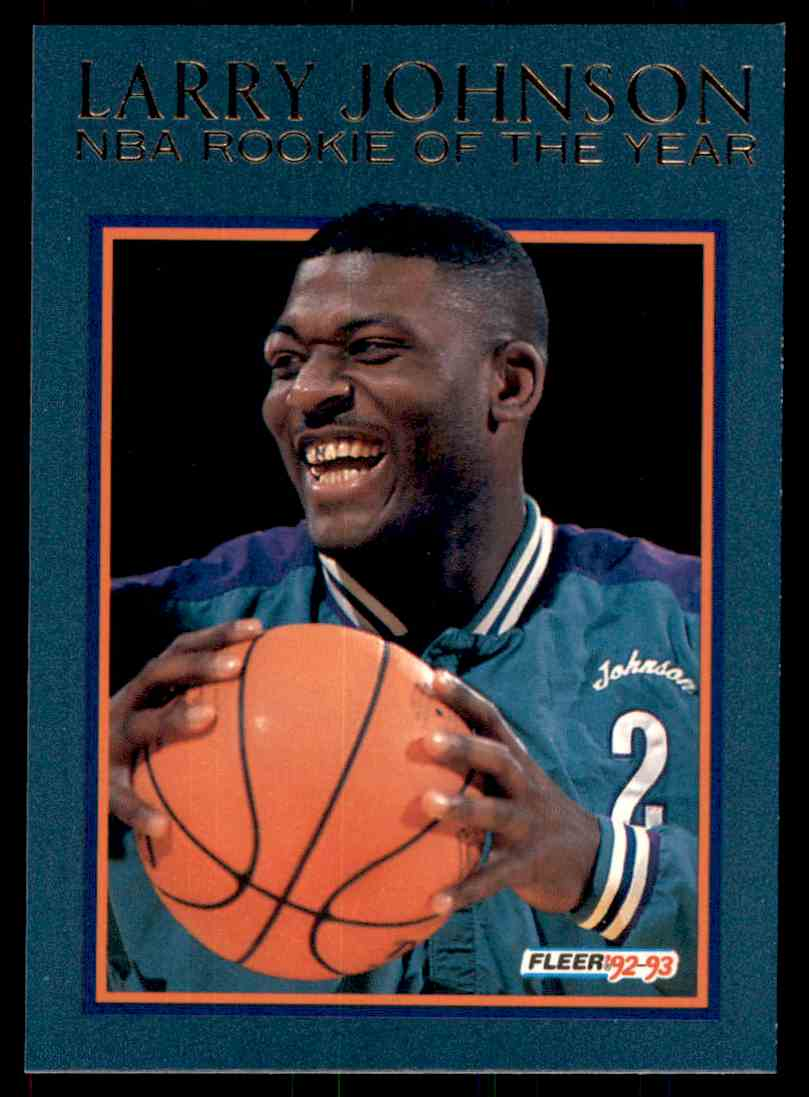 1992 93 Fleer Nba Roy Larry Johnson 5 On Kronozio