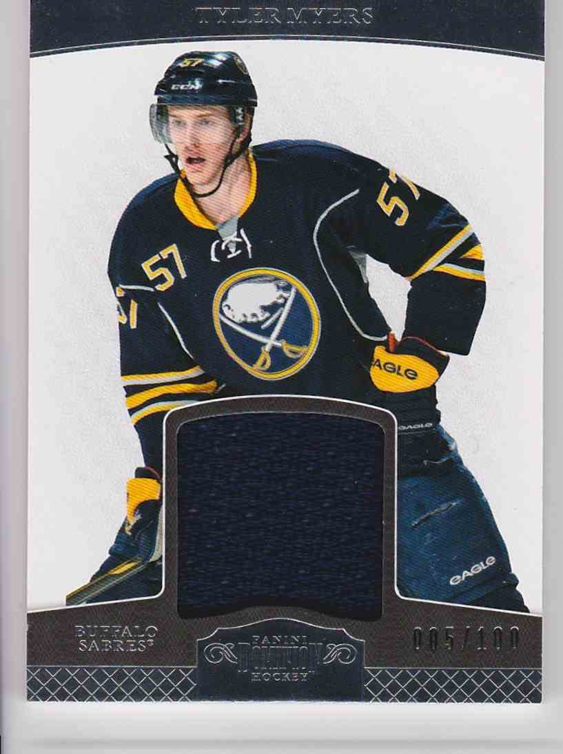 2012-13 Panini Dominion Tyler Myers #9 card front image