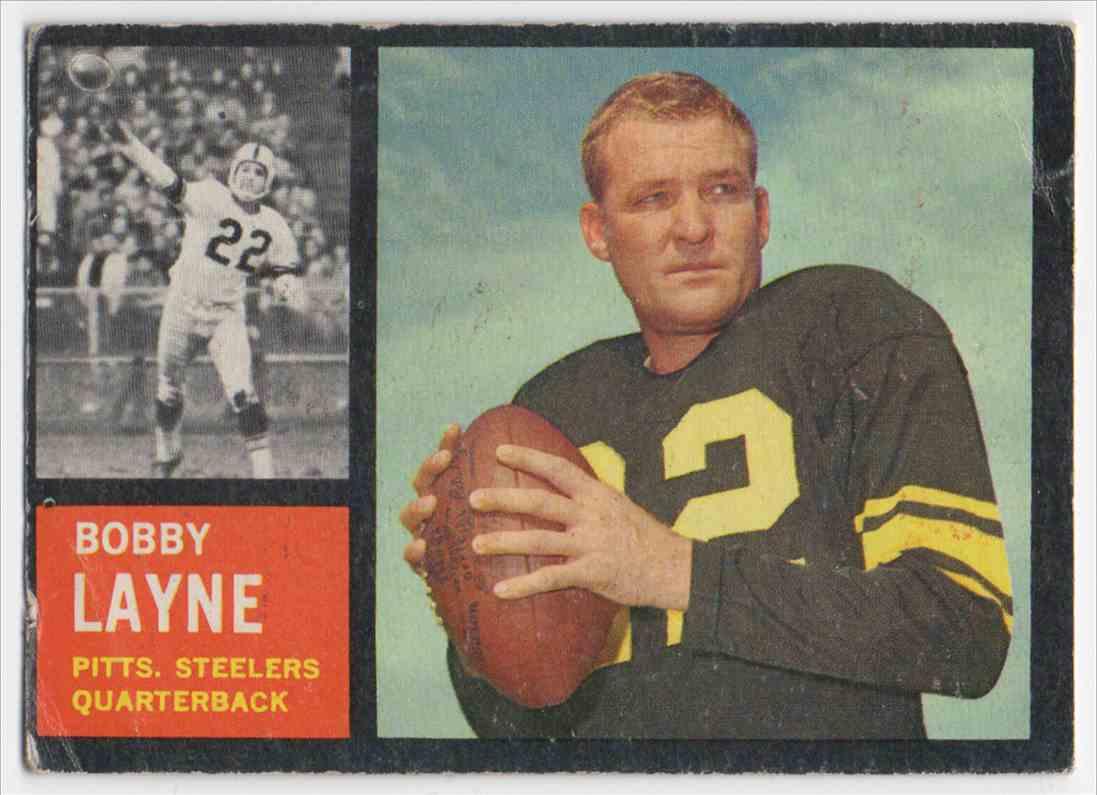 1962 Topps Bobby Lane #127 card front image
