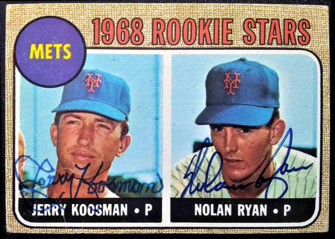 1968 Topps Nolan Ryan Jerry Koosman #177 card front image