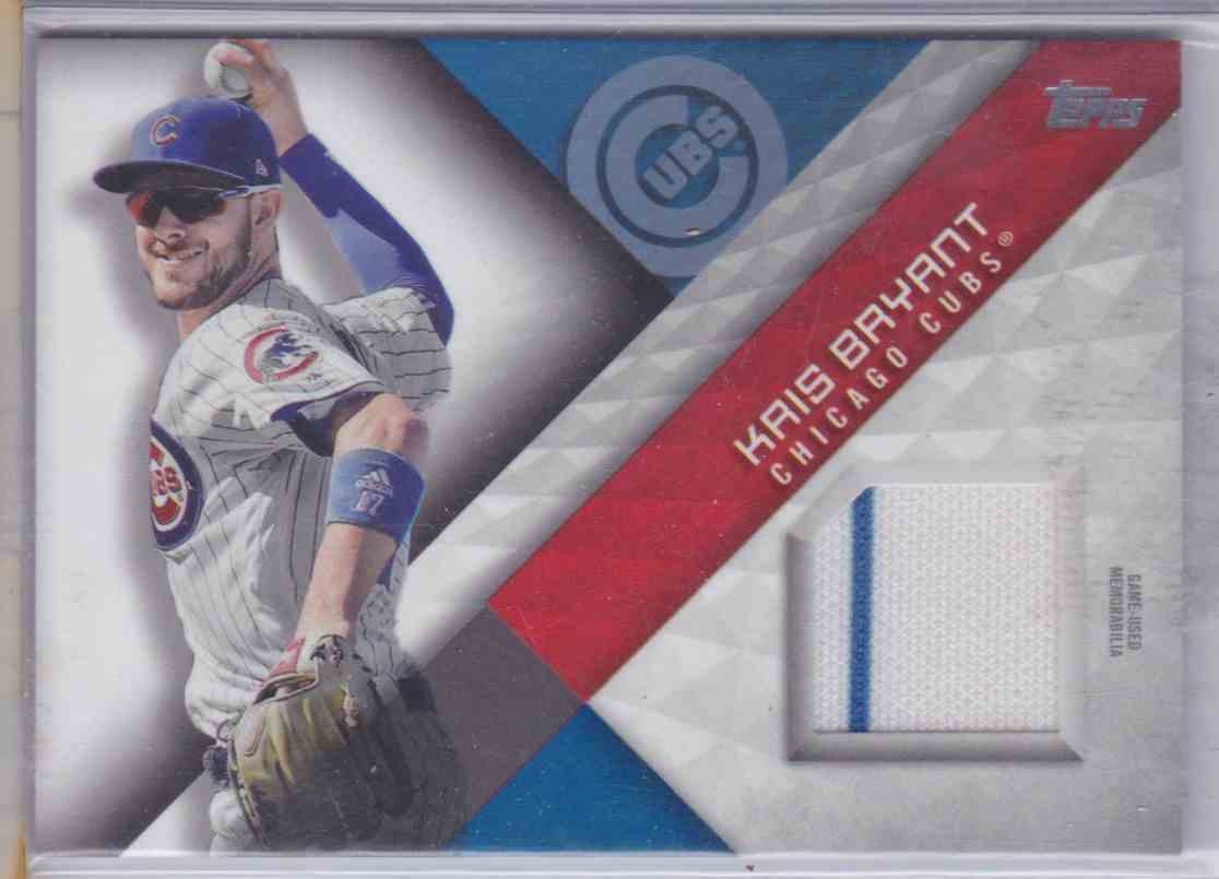2018 Topps Series One Major League Material Kris Bryant #MLM-KB card front image