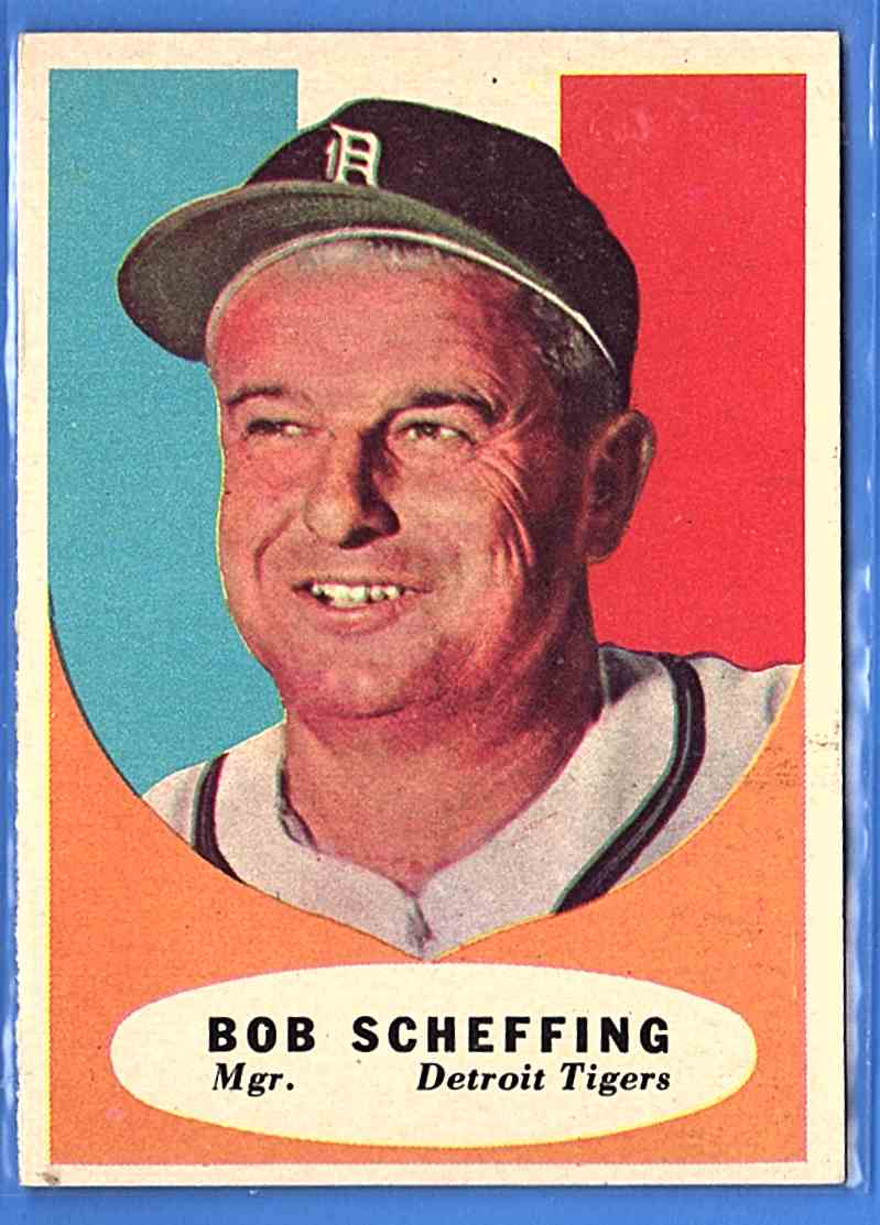 1961 Topps Bob Scheffing Mg #223 card front image