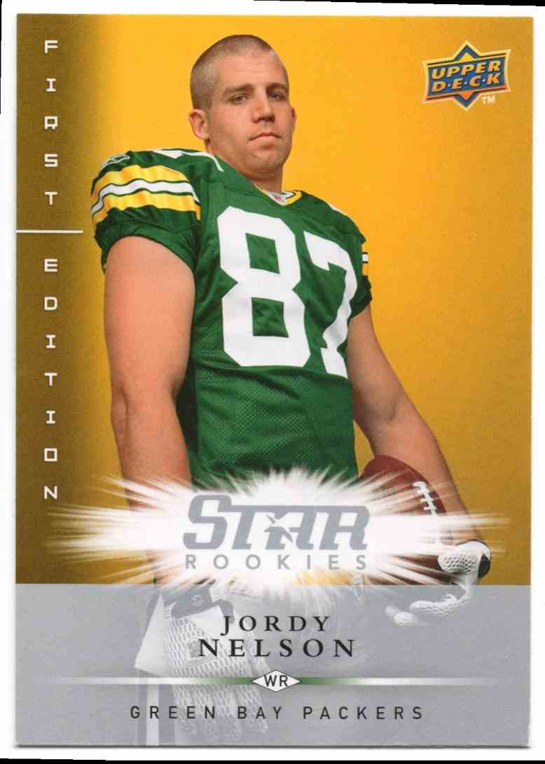2008 Upper Deck First Edition Jordy Nelson #172 card front image