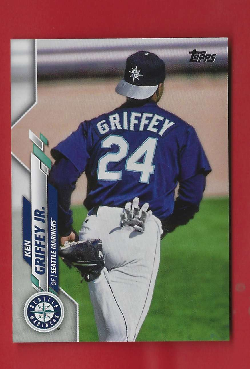2020 Topps Update Photo Variations Ken Griffey JR. SSP/jsy Back #U190 card front image